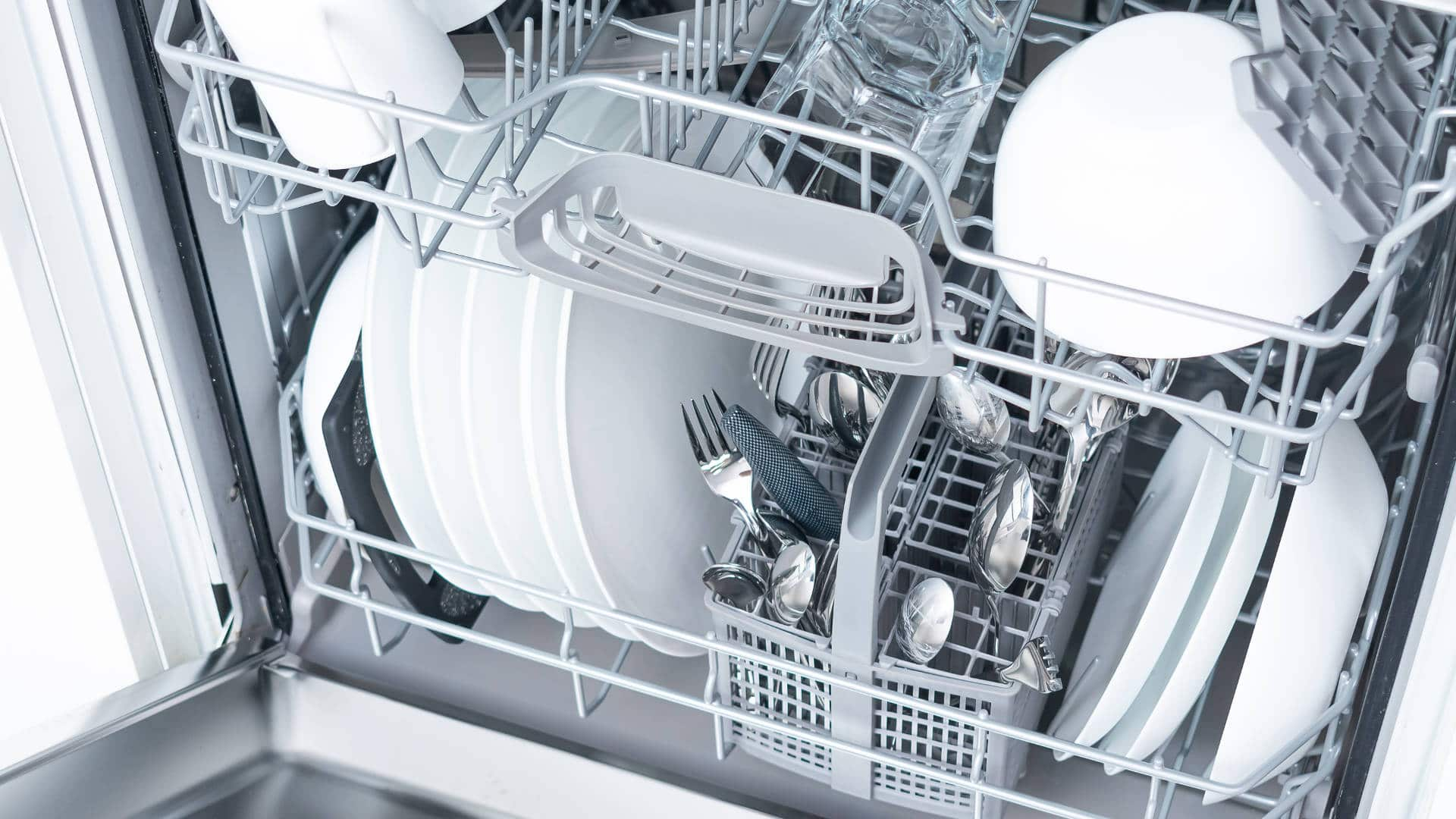 """Featured image for """"4 Common Samsung Dishwasher Problems (and Solutions)"""""""